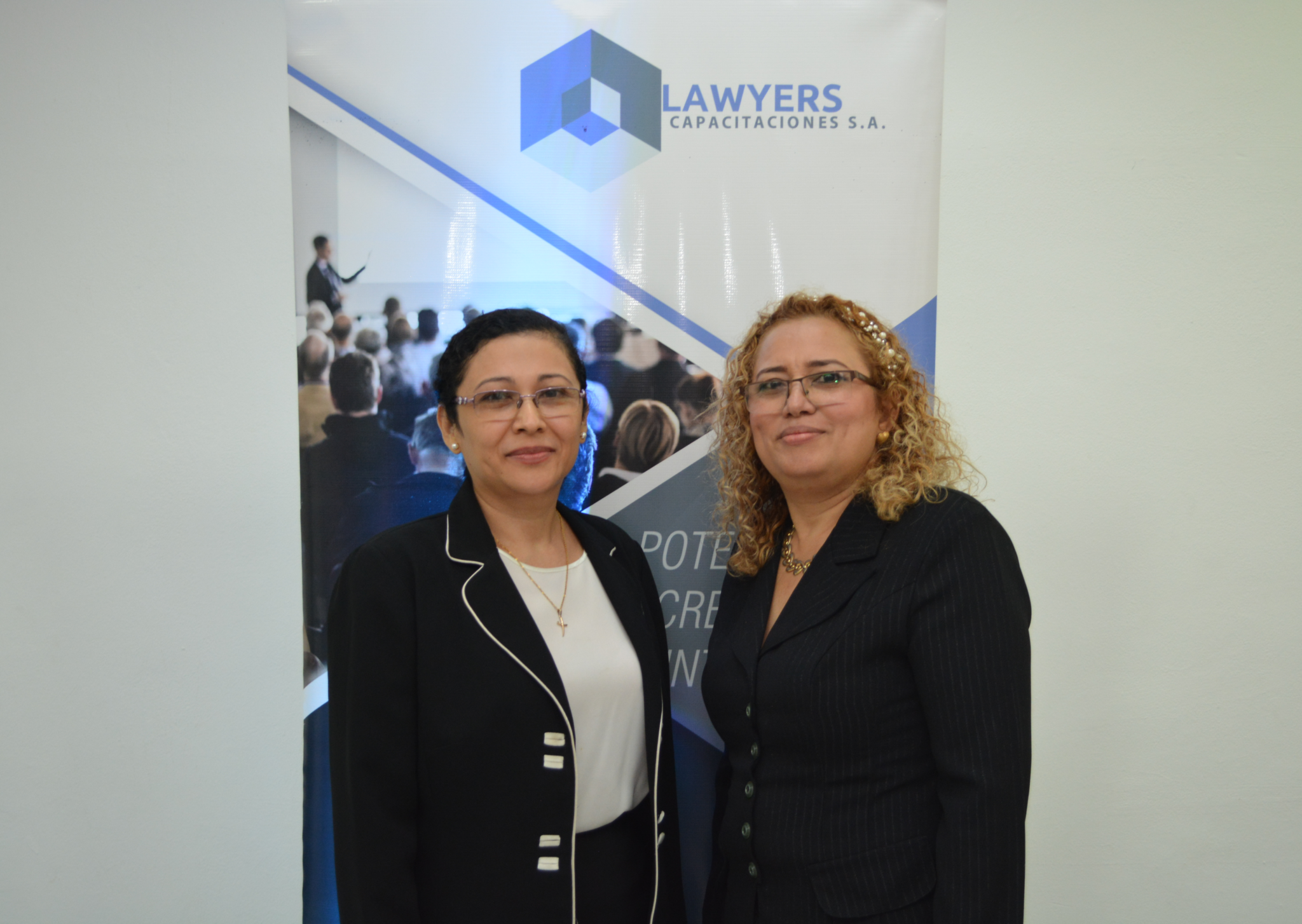Dra Lourdes Corea. (Juez Séptimo Local Penal) / Dra Fatima Rosales (Juez Décimo Tercero Distrito de Juicio)